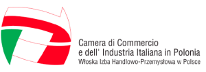 Logo camera di commercio italiana in polonia