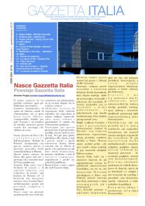 Nasce Gazzetta Italia