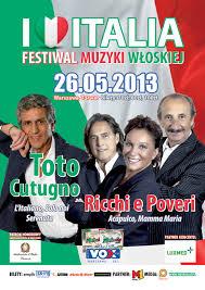 Toto Cutugno e I Ricchi e Poveri a Varsavia