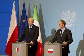 Enrico Letta spotyka Donalda Tuska