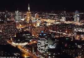 Cool nightlife in Warsaw