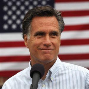 Trzy kraje w ciągu tygodnia, Romney z wizytą w Polsce