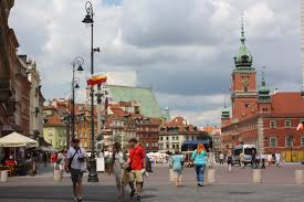 Warszawa latem