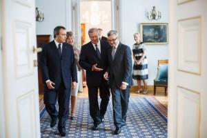 Ambasador Alessandro De Pedys złożył na ręce Prezydenta Rzeczypospolitej Polskiej