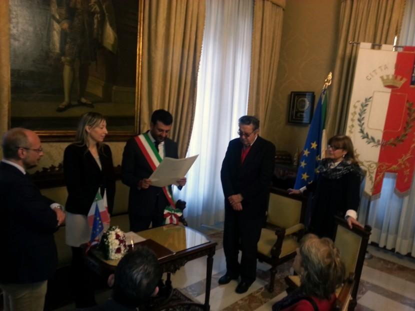 Bari, cittadinanza italiana alla prima studentessa polacca laureata all'ateneo