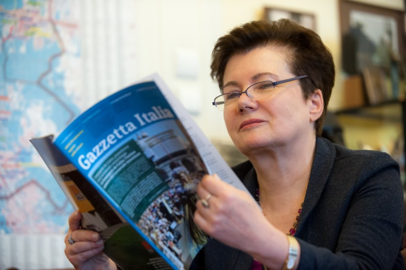 Hanna Gronkiewicz-Waltz: Varsavia nuova capitale europea