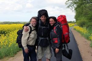 Na piechotę z Niemiec do Kaliningradu, odkrywając Polskę północną