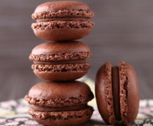 RICETTA: macaron al cioccolato!