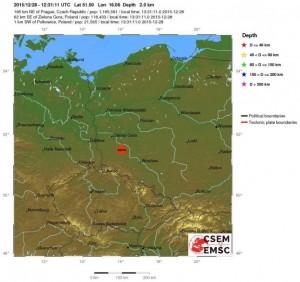 Terremoto magnitudo 4.5 in Polonia, in zona considerata a bassissimo rischio sismico