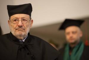 Umberto Eco otrzymał doktorat honoris causa Uniwersytetu Łódzkiego