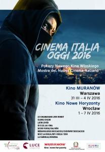 """POLONIA OGGI: """"Cinema Italia Oggi 2016"""" 31 marzo-7 aprile a Varsavia e Breslavia"""