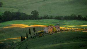 Val d'Orcia: efekty dobrych rządów na toskańskiej wsi