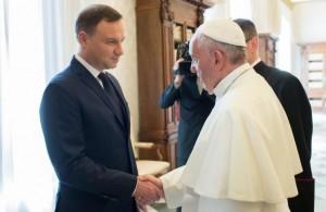 Il presidente Duda in Italia per ricordare tre grandi polacchi