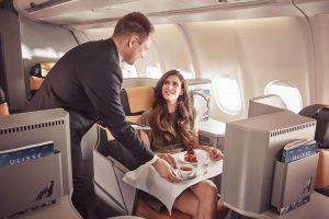 Alitalia, la miglior cucina di bordo