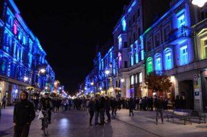 POLONIA OGGI: Tra oggi e domenica Festival della Luce a Łódź