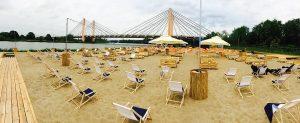 Vento d'estate: la spiaggia a Breslavia!