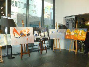 Il vernissage di Jolanta Caban a Varsavia
