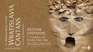 Recitar cantando, il 52° Festival Wratislavia Cantans