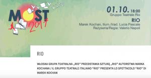 Polonia Oggi: Lo spettacolo Rio al MOST 2017