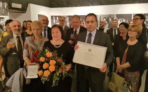 L'Ambasciatore De Pedys alla presentazione della traduzione polacca dello Zibaldone