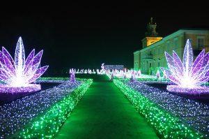 A Wilanów parte il Giardino Reale delle Luci