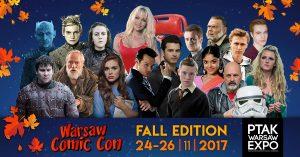 L'edizione Autunno 2017 della Warsaw Comic Con
