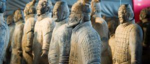 Mostra sull'Esercito di Terracotta dell'imperatore Qin a Stalowa Wola