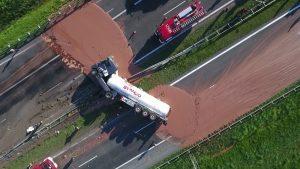 Polonia Oggi: Cioccolato fuso sull'autostrada Poznan-Varsavia