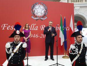 Polonia Oggi: Festa della Repubblica a Varsavia, discorso forte dell'Ambasciatore De Pedys