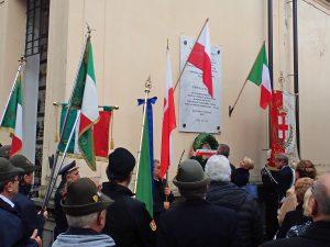 Chivasso commemora il centenario dell'indipendenza della Polonia