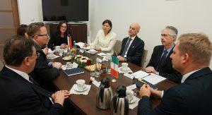 L'Ambasciatore Amati in visita ad Opole