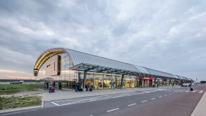 All'aeroporto di Modlin si potrà arrivare direttamente in treno