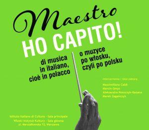 """""""Maestro, ho capito!"""", dizionario polacco delle parole italiane della musica"""