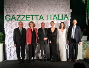 Il Premio Gazzetta Italia 2019 a Boniek, Capponi-Borawska, Pałasinski, Stuhr
