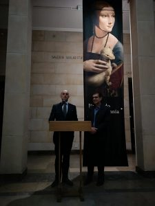 L'Ambasciatore Amati inaugura la mostra digitale Leonardo Opera Omnia