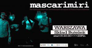 Il concerto del gruppo salentino Mascarimiri a Varsavia