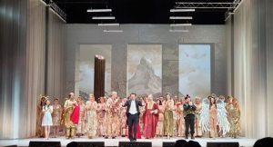 Il Don Bucefalo all'Opera Baltica di Danzica, diretto da Massimiliano Caldi