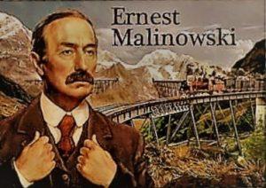 Targa commemorativa a Malinowski alla Stazione centrale di Varsavia