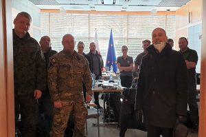 L'Ambasciatore Amati saluta il personale medico polacco in partenza per l'Italia