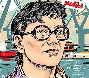 """Anna Walentynowicz una delle 100 donne più influenti del secolo scorso secondo """"Time"""""""